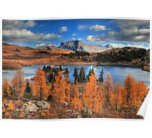 Autumn in high altitude (HDR) Poster