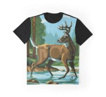 Deer Country Graphic T-Shirt