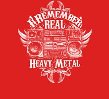 I Remember REAL Heavy Metal Unisex T-Shirt