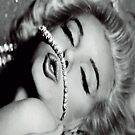 Marilyn Monroe Diamonds iPhone 4/4s case by Jnhamilt