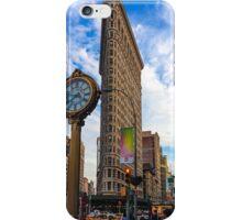 Flatiron On Blue Clouds iPhone Case/Skin