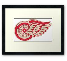 Red Wings Detroits sport Framed Print