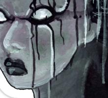 Geisha in the Machine: The Illusional Concubine Sticker