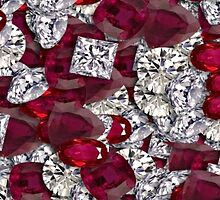 Diamonds iPhone 4/4s case by Jnhamilt