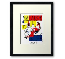 "Almodovar movies: ""Matador"" Framed Print"