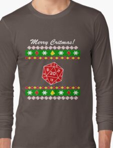 Merry Critmas! Ugly Christmas Sweater T-Shirt