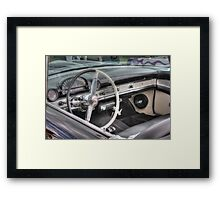 Driver's Seat Framed Print