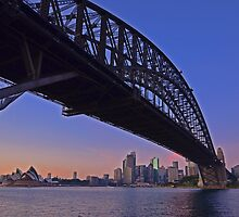 Sydney Harbour Bridge by leanne0333