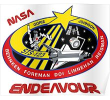 STS-123 Endeavour Mission Logo Poster