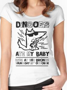 Dingoes Ate My Baby | Buffy The Vampire Slayer Band T-shirt Women's Fitted Scoop T-Shirt