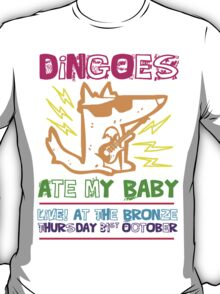 Dingoes Ate My Baby | Buffy The Vampire Slayer Band T-shirt [Neon] T-Shirt