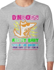 Dingoes Ate My Baby | Buffy The Vampire Slayer Band T-shirt [Neon] Long Sleeve T-Shirt