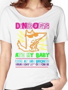 Dingoes Ate My Baby   Buffy The Vampire Slayer Band T-shirt [Neon] Women's Relaxed Fit T-Shirt