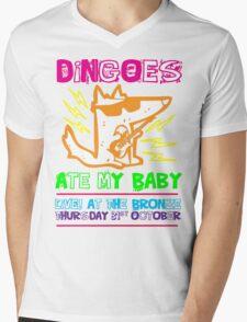 Dingoes Ate My Baby | Buffy The Vampire Slayer Band T-shirt [Neon] Mens V-Neck T-Shirt