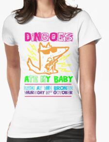 Dingoes Ate My Baby | Buffy The Vampire Slayer Band T-shirt [Neon] Womens Fitted T-Shirt