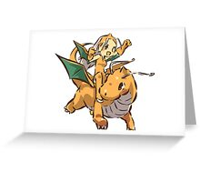 Dragonite Greeting Card