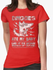 Dingoes Ate My Baby | Buffy The Vampire Slayer Band T-shirt [Distressed] Womens Fitted T-Shirt