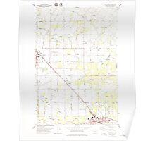 USGS Topo Map Washington State WA Grandview 241382 1978 24000 Poster