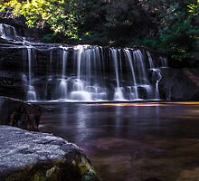 Wentworth Falls by alidavisphoto