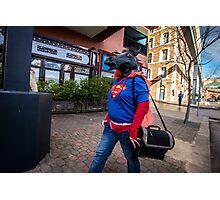 Super Horse Man? Photographic Print