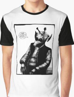 Greedo: Han Shot First Graphic T-Shirt
