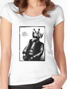 Greedo: Han Shot First Women's Fitted Scoop T-Shirt