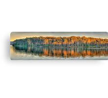 Morning Light, Narrabeen Lakes, Sydney Australia - The HDR Experience Canvas Print