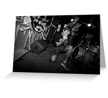 Winston McCall - Parkway Drive Greeting Card