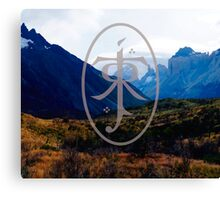 LORD OF THE RINGS LANDSCAPE Canvas Print