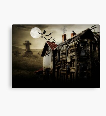 Hallows Eve Haunting Canvas Print