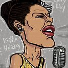 Billie Holiday 'Lady Day' by Shan Stumpf by Shan  Stumpf