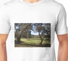 Vineyard scene Unisex T-Shirt