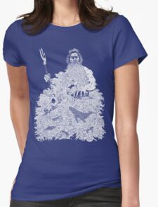The Mighty Beard of the Sea Womens Fitted T-Shirt