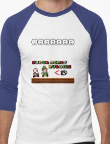Super Merry Buddies Men's Baseball ¾ T-Shirt