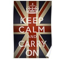 Keep Calm Vintage Poster
