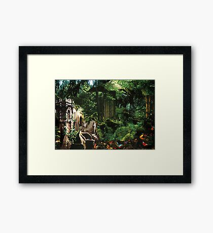 Home of the Elves Framed Print