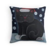 Trevor and the mouse Throw Pillow