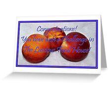 Banner - TLFH - Challenge winner Greeting Card