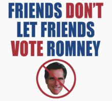 No Romney Kids Tee