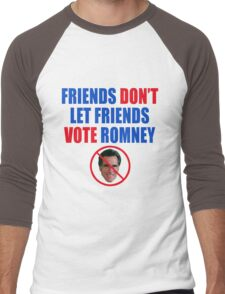 No Romney Men's Baseball ¾ T-Shirt