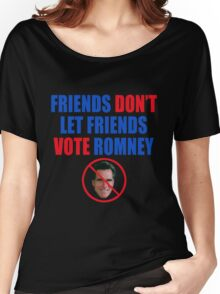 No Romney Women's Relaxed Fit T-Shirt