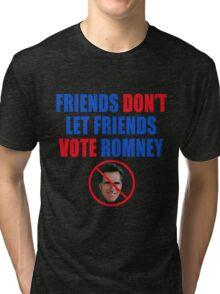 No Romney Tri-blend T-Shirt
