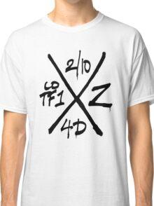 Dead Walking Zombie X-Code (BLACK) Classic T-Shirt