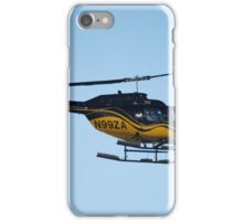 Helicopter still iPhone Case/Skin