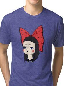 Goth Girl Tri-blend T-Shirt