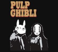 Pulp Ghibli - Studio Ghibli and Pulp Fiction by tduffy