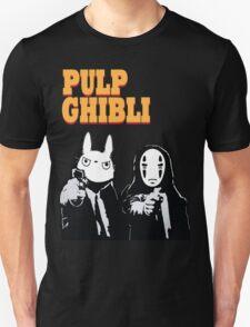 Pulp Ghibli - Studio Ghibli and Pulp Fiction T-Shirt
