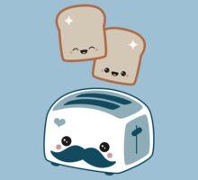 Cute Mustache Toaster by sugarhai
