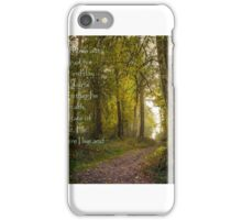 Card #445R  He Loves Me iPhone Case/Skin