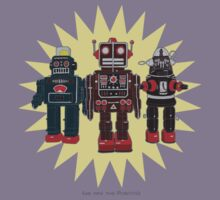 We Are The Robots Kids Tee